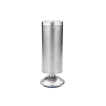 Stainless Steel Adjustable Feet Home Furniture Legs 50x150mm Silver