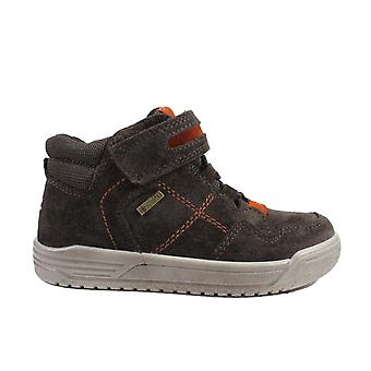 Superfit Earth 009059-30 Brown Suede Leather Boys Wide Fit Ankle Boots