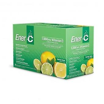 Saquinhos de Cal ener-C Ener-C Lemon Lime saquetas - limão Ener-C Ener-C
