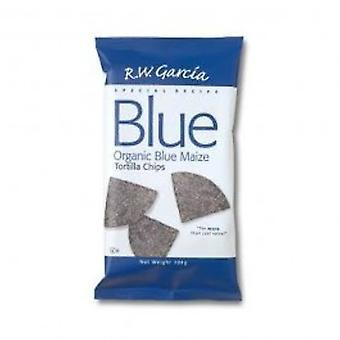 RW Garcia - orgaaninen sininen maissitortilla Chips 150 g x 15