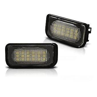 Illuminazione targa LED MERCEDES W203 07 00-07 LED SEDAN
