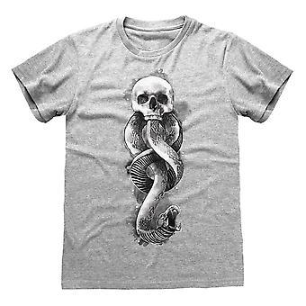 Harry Potter Miesten Tumma Merkki T-paita