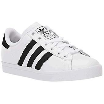 adidas Originals Men's Coast Star Sneaker, weiß/schwarz/weiß, 4,5