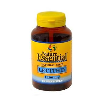 Soy lecithin 90 softgels of 1200mg