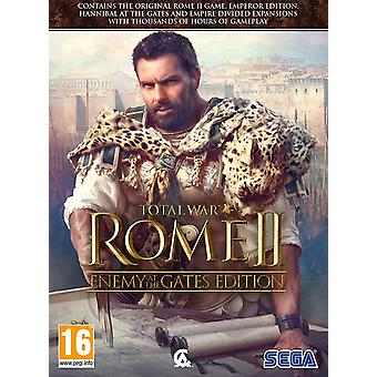 Total War Rome II Vijand bij de Gates PC DVD Game