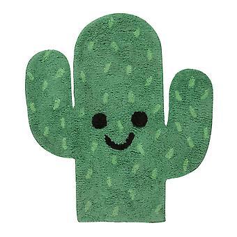 Vihreä kaktusmatto - Lastenhuoneen sisustus