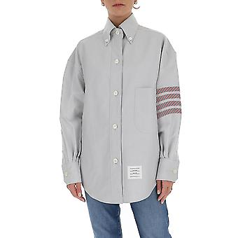 Thom Browne Fll099a06177035 Dames's Grijs Katoen shirt