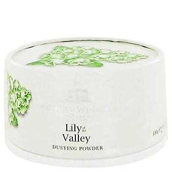 Lily of the valley (woods of windsor) dusting powder by woods of windsor 104 ml