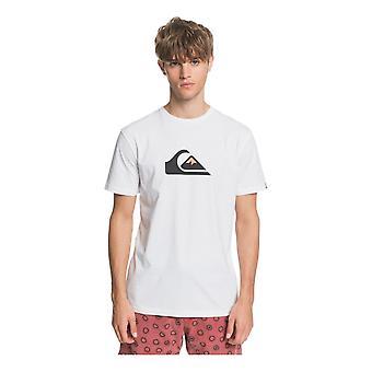 Quiksilver Comp Logo T-paita - Valkoinen