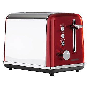 Daewoo Red Kensington 2 Slice Toaster