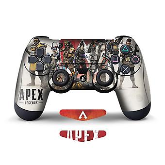 2pcs Stickers Of Apex Legends For Ps4 Controller