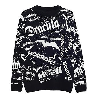 Universal Monsters Dracula Men's Knitted Jumper | Official Merchandise