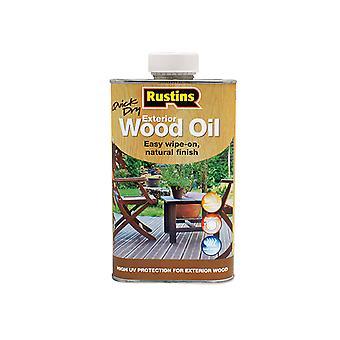 Rustins Exterior Wood Oil 500ml RUSEWO500