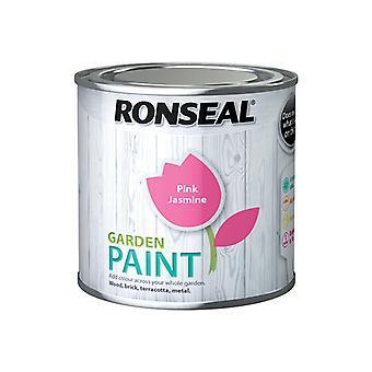 Ronseal Garden Paint Pink Jasmine 250ml RSLGPPJ250