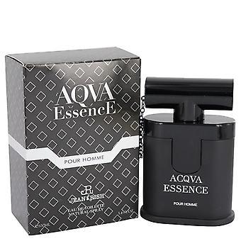 Aqua essence pour homme eau de toilette spray by jean rish 540863 100 ml