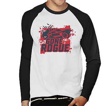 Nopea ja raivoisa Kohtalo mennyt Rogue Men's Baseball Pitkähihainen T-paita