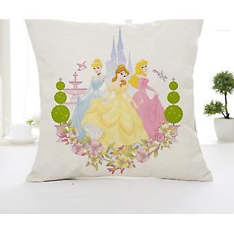 Disney Cartoon Mickey Minnie Mořská panna Princezna Dekorativní / zdřímnout Polštář Případy Cover