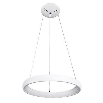 Nowoczesny wiszący wisiorek LED biały, ciepły biały 3000K 2200lm