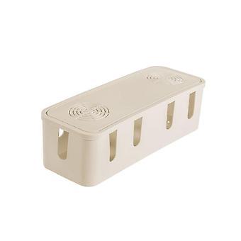 Kabelový úložný box, zásuvka pro správu drátů Uklicí organizátor