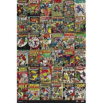 Marvel Comic Book kattaa juliste Juliste Tulosta