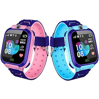Children Smart Watch Camera Lighting Touch Screen Sos Call Tracking Location