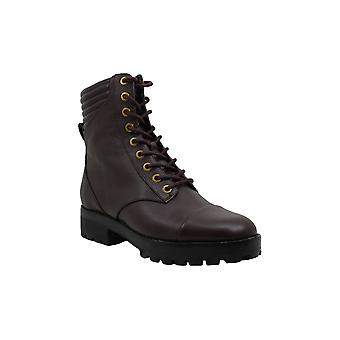 Michael Michael Kors Mens Bastian Leather Closed Toe Ankle Military Boots