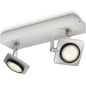 Philips myLiving dimbare warme LED Spotlights Eco & Aluminium afwerking - 5319248P0