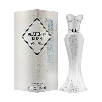 Paris hilton platinum rush for women 3.4 oz eau de parfum spray