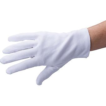 3 Pairs - White Cotton Gloves - Soft Cotton Size L 100% Cotton - Work Gloves Coin Jewelry Silver Inspection