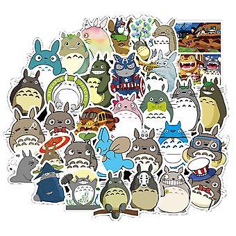 Japanese Anime Stickers Miyazaki Totoro Spirited Away Princess Mononoke Kiki