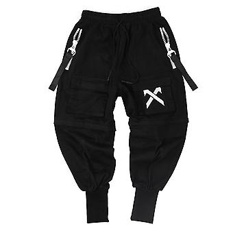 Multi-pocket Cargo Pants Men Hip Hop Streetwear Joggers