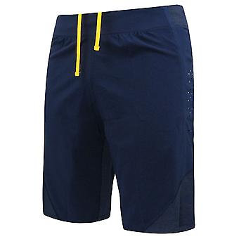 Puma Sports Dry Cell Mens Tight Running Elasticated Shorts Navy Blue 515158 04