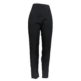 Carole Hochman Leggings Slim Leg Semi FItted Wear w/ Ease Black A381863