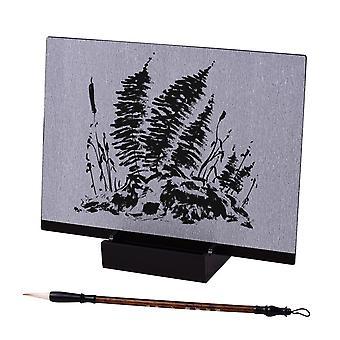 Wiederverwendbare Buddha Künstler Paint Board mit Wasserpinsel & Ständer