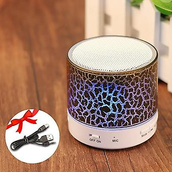 Bluetooth Led Portable Mini Wireless Speaker Player