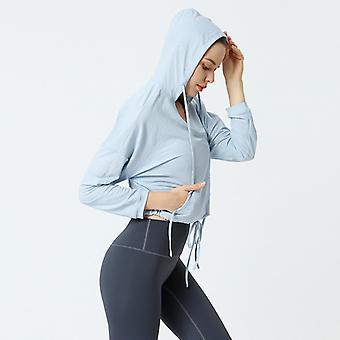 Damer Slim Yoga Fitness Sport Topp C16