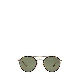 Garrett Leight RIMOWA X GLCO SUN tokyo tort-matte gold unisex sunglasses