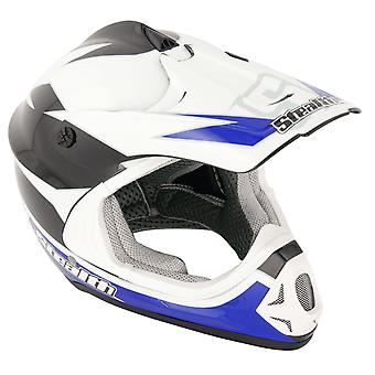 Stealth HD204 GP Replica Kids MX Helmet - Blue