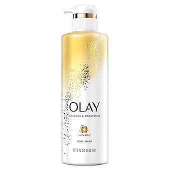 Olay Cleansing & Brightening Body Wash met Vitamine B3 en Vitamine C