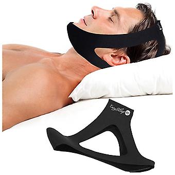Anti ronco parar roncando chin strap jaw solução sleep support apnea belt