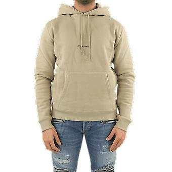Sweat à capuche Saint Laurent (Volume Large) M Doux I Beige 650353YBQZ21368 Haut