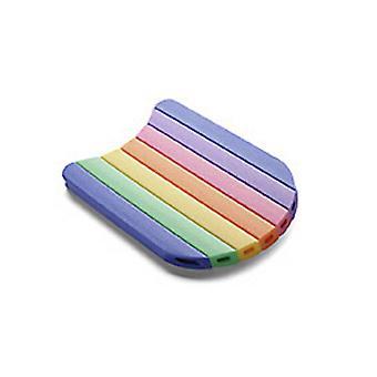 Comfy Kickboard - Rainbow coloured