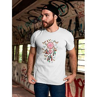 Dream Catcher And Butterfly Tee Men's -Image by Shutterstock