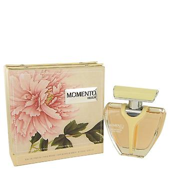 Armaf Momento Fleur Eau De Parfum Spray By Armaf 3.4 oz Eau De Parfum Spray