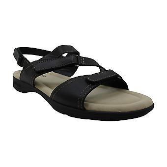 Eastland Women's Sling Sandal, Black, 11