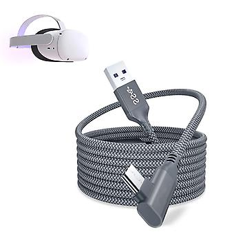 Type C Data Charging Cable (gray)