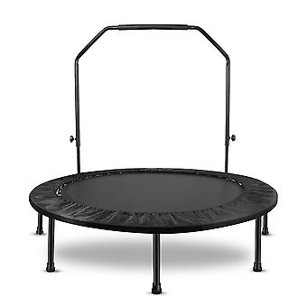 48 Inches Folding Rebounder Mini Fitness Cardio Trampoline For Adults Kids
