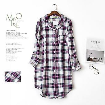 Plus Size Høst Nightshirts