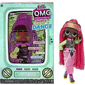 L.O.L Surprise! O.M.G Virtuelle Dance Doll With 15 Surprises