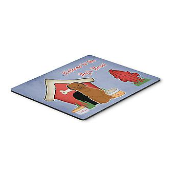 Caroline'S Schätze Hundehaus Sammlung Briard braun Maus Pad, Multicolor, 7.75X9.25 (Bb2836Mp)
